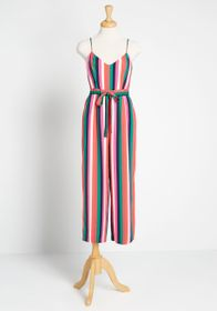BB Dakota With Flying Colors Cropped Jumpsuit Mult