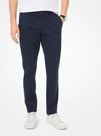 Michael Kors Skinny-Fit Stretch-Cotton Chino Pants