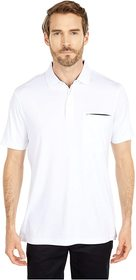 BUGATCHI Gunnar Short Sleeve Knit Polo