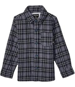Quiksilver Kids Inca Gold Check Long Sleeve Shirt