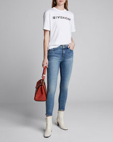Givenchy Logo-Embroidered Graphic Tee