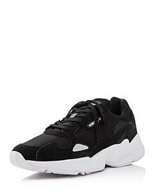 Adidas - Women's Falcon Suede & Leather Lace Up Sn