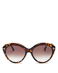 Tom Ford - Women's Maxine Round Sunglasses, 56mm