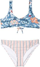 Roxy Kids Chase Your Dream Athletic Swim Set (Big