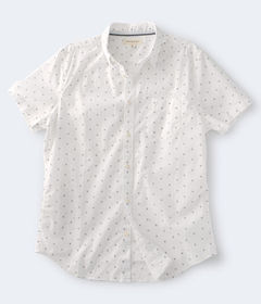 Aeropostale Geometric Button-Down Shirt