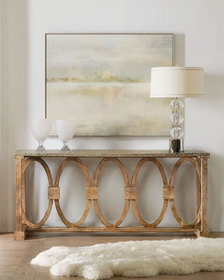 Hooker Furniture Circle Motif Console Table