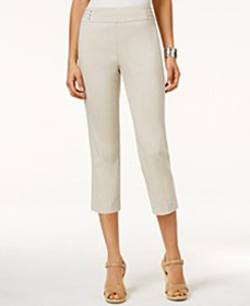 Embellished Pull-On Capri Pants, Created for Macy'