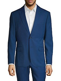 NHP Extra Slim-Fit Textured Notch-Lapel Sportcoat