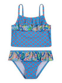 Tommy Bahama Printed Two-Piece Tankini Swimsuit wi