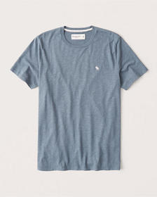 Icon Crew Tee, HEATHER BLUE