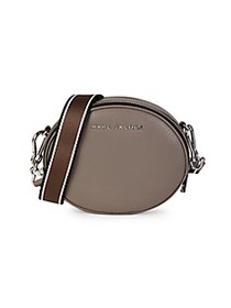 Marc Jacobs Rewind Oval Leather Crossbody