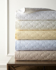 SFERRA Quilted Percale Euro Sham