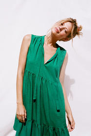 Anthropologie Shira Tiered Tunic