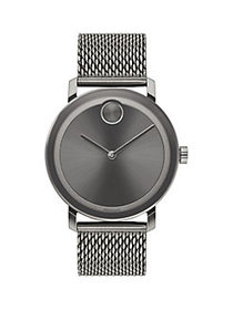 Movado BOLD Evolution Stainless Steel Watch GREY