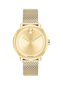 Movado BOLD Ionic-Goldplated Stainless Steel Brace