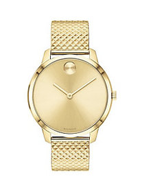 Movado BOLD Light Yellow Gold Ion-Plated Stainless
