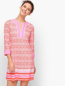 Talbots Cabana Life® Embroidered Cover Up - Co