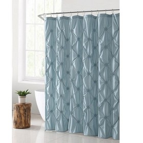 VCNY Home Flora Pintuck Shower Curtain
