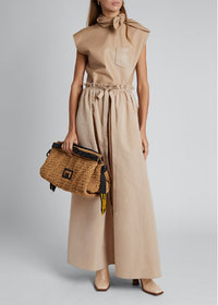 Givenchy Front Slit Maxi Skirt