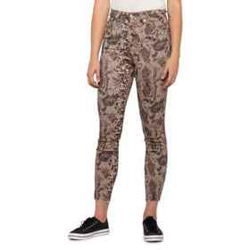 Free People Raw High-Rise Printed Jeggings (For Wo