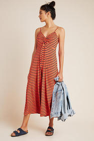 Anthropologie Lissa Wide-Leg Jumpsuit
