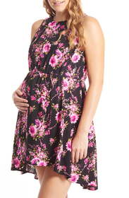 Everly Grey Crystal Maternity/Nursing High/Low Dre