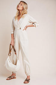 Anthropologie Madeleine Jogger Jumpsuit