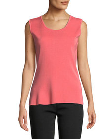 Misook Scoop-Neck Knit Tank