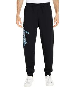 Lacoste Solid Track Pants with Lacoste Wording Pri