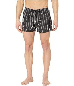 Moschino Zip Swim Trunks