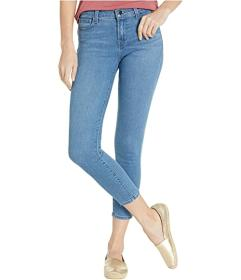 J Brand 835 Mid-Rise Crop Skinny in Heart