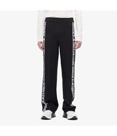 Versace Jeans Couture High-Rise Wide Leg Pants wit