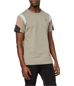 G-Star Motac Fabric Mix Round Neck T-Shirt