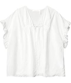 See by Chloe Habotai Short Sleeve Top