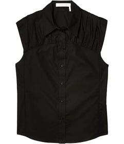 See by Chloe Sleeveless Poplin Top