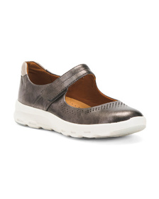 ROCKPORT Comfort Leather Mary Janes