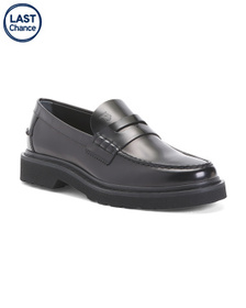 TODS Men's Made In Italy Leather Loafers