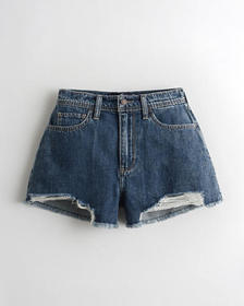 Hollister Ultra High-Rise Denim Relaxed Vintage Sh