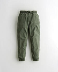 Hollister Ultra High-Rise Joggers, OLIVE