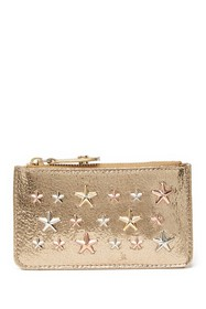 Jimmy Choo Nancy Star Studded Mini Wallet