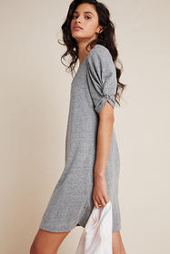 Anthropologie Greta Puff-Sleeved Mini Dress