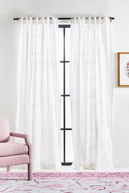 Anthropologie Embroidered Ana Curtain