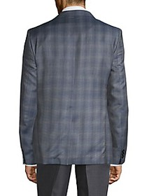 Versace Collection Modern-Fit Wool Printed Sportco