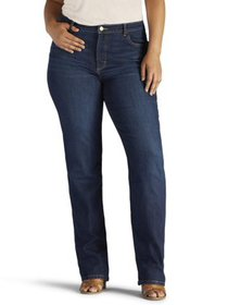 Lee Women's Plus Size Instantly Slims Relaxed Fit
