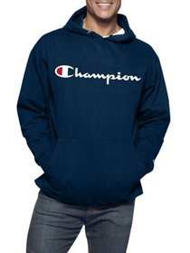 Champion Men's Big and Tall Powerblend Graphic Scr