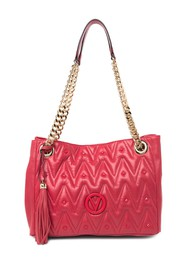 MARIO VALENTINO Luisa Quilted Leather Tote Bag