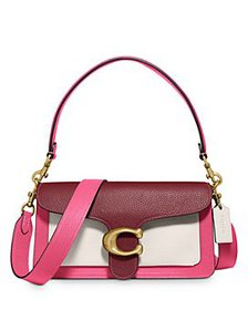 COACH - Tabby 26 Small Color-Block Leather Shoulde