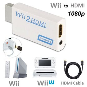 WII To HDMI Adapter Full Hd 1080p Output Upscaling