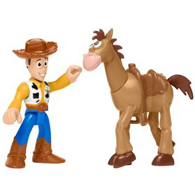 Fisher-Price Imaginext Toy Story Woody & Bullseye,