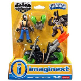 Fisher-Price Imaginext DC Super Friends Bane Actio